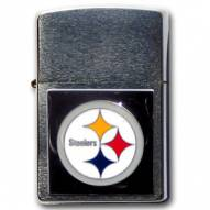 Pittsburgh Steelers Large Emblem NFL Zippo Lighter