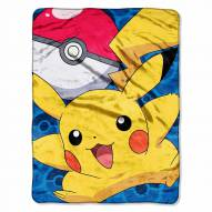 Pokemon Go Pikachu Micro Raschel Throw Blanket