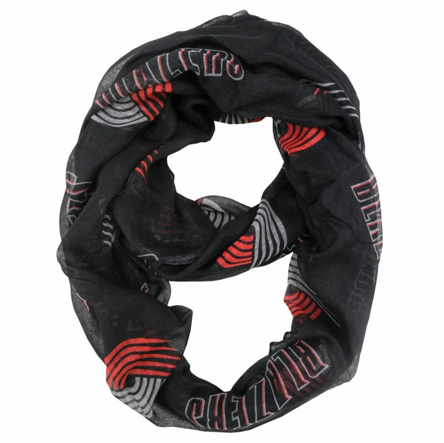 Portland Trail Blazers Alternate Sheer Infinity Scarf
