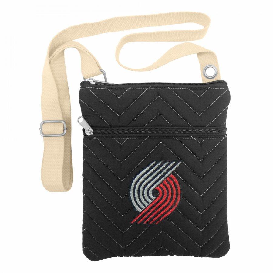 Portland Trail Blazers Chevron Stitch Crossbody Bag