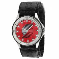 Portland Trailblazers Veteran Velcro Mens Watch