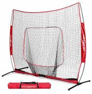 PowerNet XLP PRO Baseball Softball 8 x 8 ft Practice Hitting Net