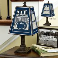 Penn State Nittany Lions NCAA Hand-Painted Art Glass Table Lamp