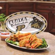 Purdue Boildermakers Ceramic Serving Platter
