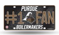 Purdue Boilermakers #1 Fan License Plate