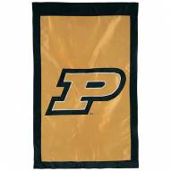 "Purdue Boilermakers 28"" x 44"" Double Sided Applique Flag"