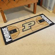Purdue Boilermakers Basketball Court Runner Rug