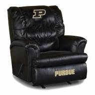Purdue Boilermakers Big Daddy Leather Recliner