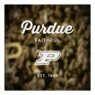 Purdue Boilermakers Canvas Logo Art