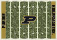 Purdue Boilermakers College Home Field Area Rug