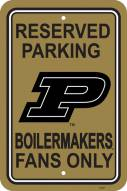 Purdue Boilermakers College Parking Sign