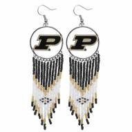 Purdue Boilermakers Dreamcatcher Earrings