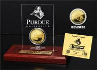 Purdue Boilermakers Etched Acrylic