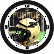 Purdue Boilermakers Football Helmet Wall Clock
