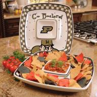 Purdue Boilermakers Gameday Chip N Dip Dish