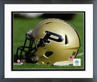 Purdue Boilermakers Helmet Framed Photo