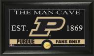 Purdue Boilermakers Man Cave Bronze Coin Panoramic Photo Mint
