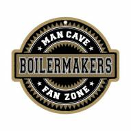 Purdue Boilermakers Man Cave Fan Zone Wood Sign