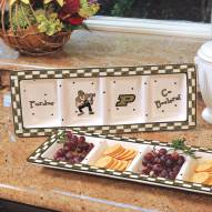 Purdue Boilermakers NCAA Ceramic Relish Tray