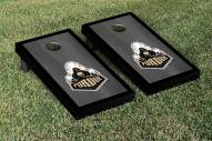 Purdue Boilermakers Onyx Stained Border Cornhole Game Set