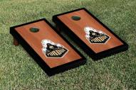 Purdue Boilermakers Rosewood Stained Border Cornhole Game Set