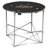 Purdue Boilermakers Round Folding Table