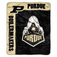 Purdue Boilermakers School Spirit Raschel Throw Blanket