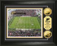 Purdue Boilermakers Stadium 24KT Gold Coin Photomint