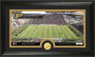 Purdue Boilermakers Stadium Bronze Coin Panoramic Photo Mint