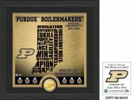 Purdue Boilermakers State Bronze Coin Photo Mint