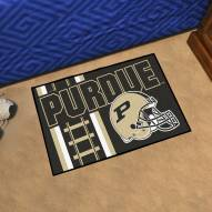 Purdue Boilermakers Uniform Inspired Starter Rug