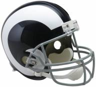 Riddell St. Louis Rams 1965-72 Deluxe Replica Throwback NFL Football Helmet