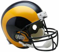 Riddell St. Louis Rams 1981-99 Deluxe Replica Throwback NFL Football Helmet