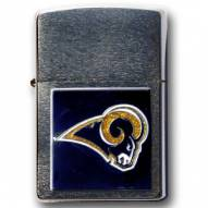 Los Angeles Rams Large Emblem NFL Zippo Lighter