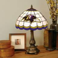 Baltimore Ravens NFL Stained Glass Table Lamp