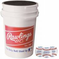 Rawlings Bucket of Training Baseballs - 3 Dozen