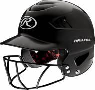 Rawlings COOLFLO Baseball Batting Helmet with Face Guard