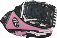 "Rawlings Players Series 9"" Youth Pink Tee Ball Glove with Ball - Left Hand Throw"