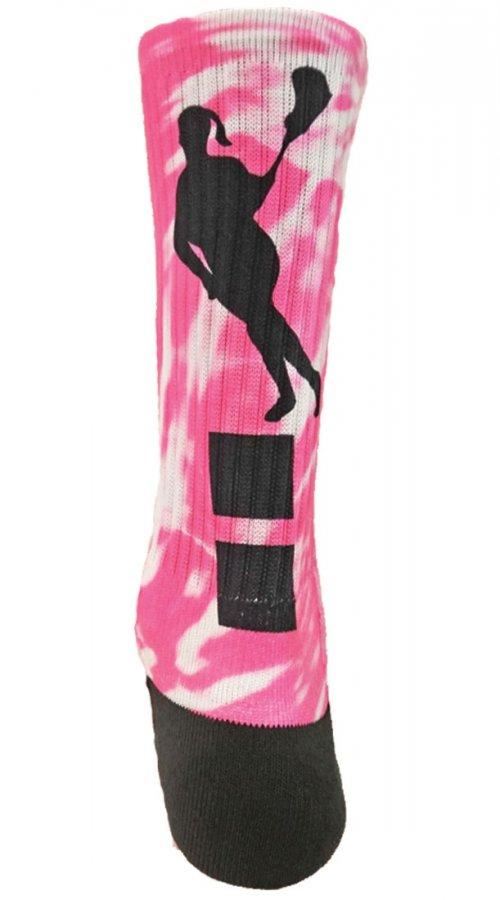 Red Lion #12 Women's Lacrosse Sublimated Crew Socks