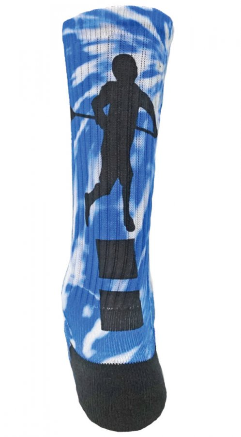Red Lion #28 Men's Lacrosse Sublimated Crew Socks