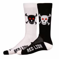 Red Lion Bones Adult Socks - Sock Size 9-13