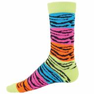 Red Lion Rainbow Tiger Crew Socks
