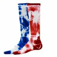 Red Lion Tie Dyed Adult Compression Support Socks - Sock Size 9 - 11