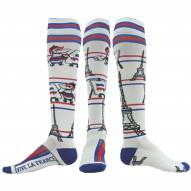 Red Lion Vive La France Over the Calf Performance Socks