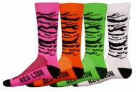 Red Lion Zebra Adult Socks - Sock Size 9-13