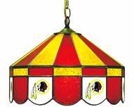 "Washington Redskins NFL Team 16"" Diameter Stained Glass Pub Light"