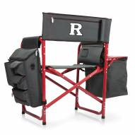 Rutgers Scarlet Knights Gray/Red Fusion Folding Chair