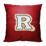 Rutgers Scarlet Knights Letterman Pillow