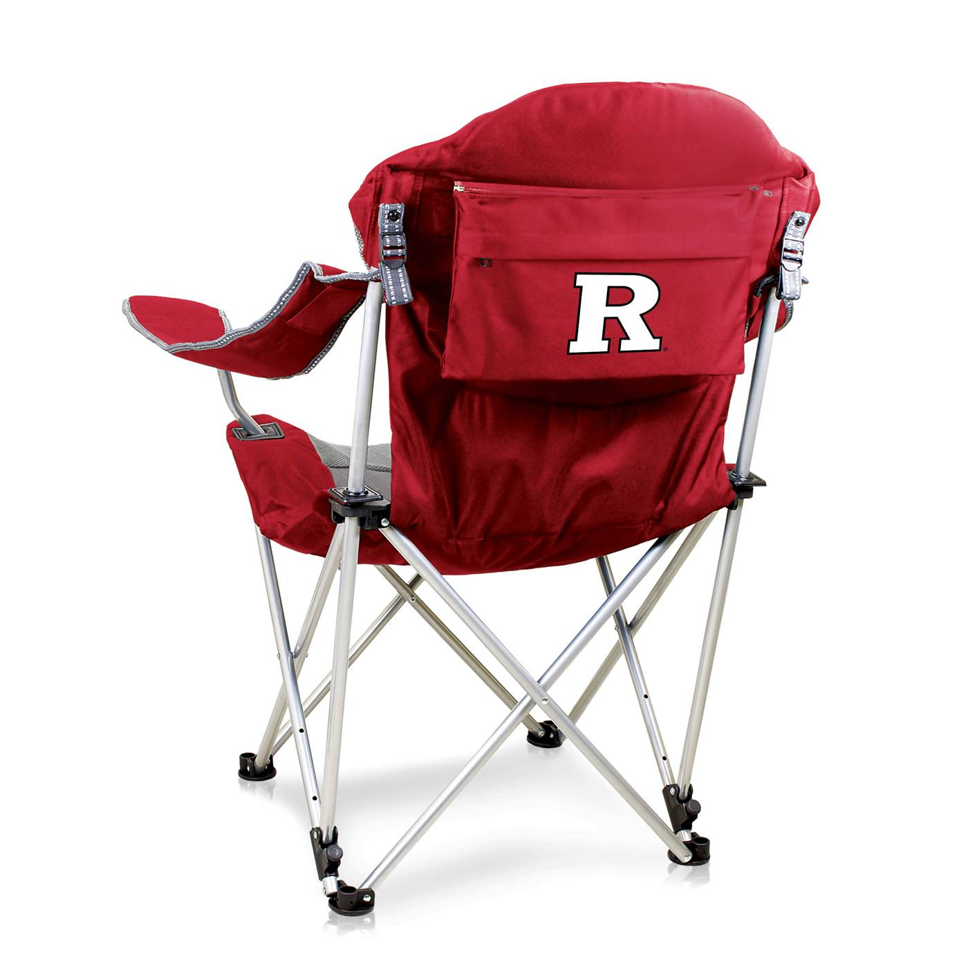 Rutgers Scarlet Knights Red Reclining Camp Chair