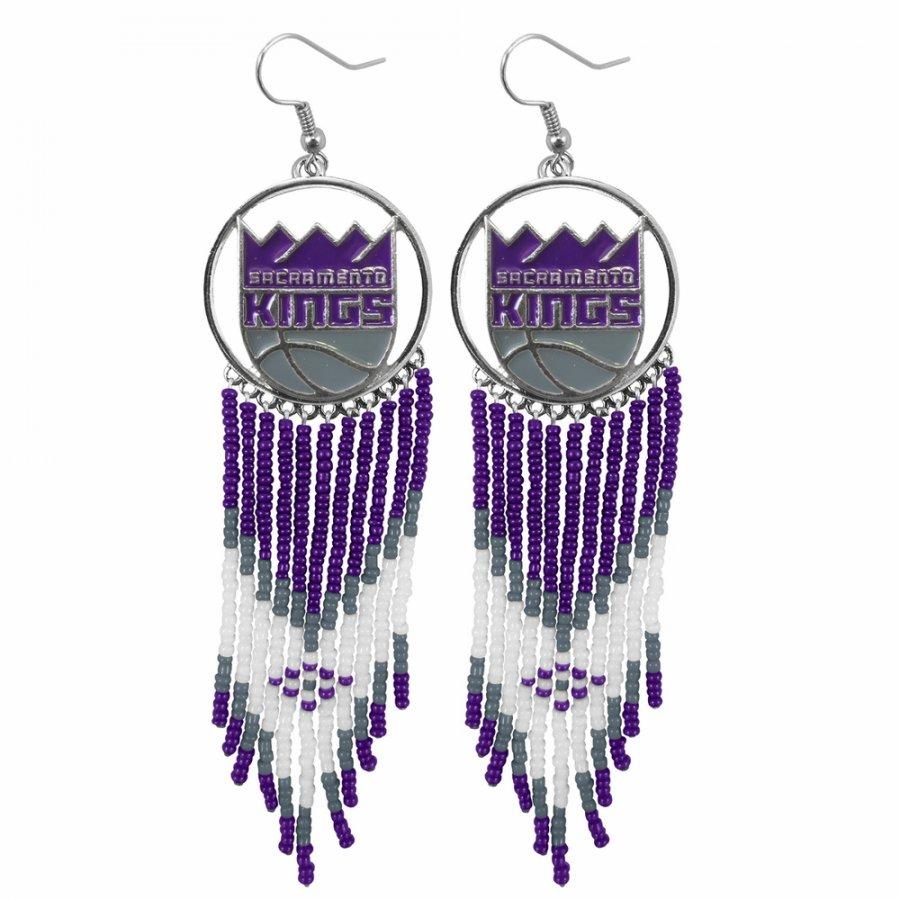 Sacramento Kings Dreamcatcher Earrings